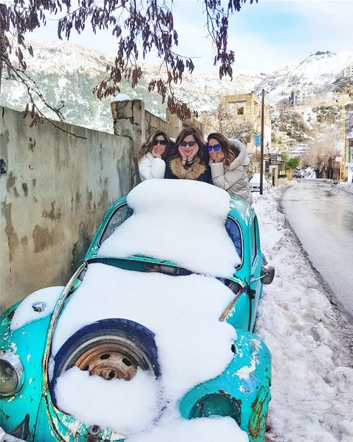 Pack your bags ladies, we are off on an adventure!💙💙💙 Anyone else love... (Bsharri, Lebanon)