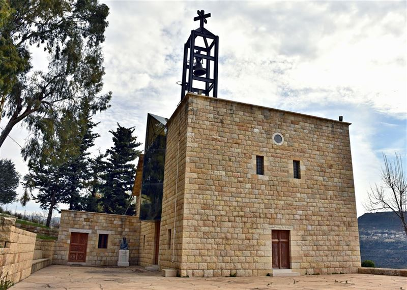 The beautifully renovated Church of St John the Beloved in Ain Trez,... (`Ain Trez, Mont-Liban, Lebanon)