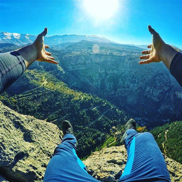 Live in the moment 💆🏻‍♂️.... lifeadventure  explore  ... (Bcharré, Liban-Nord, Lebanon)
