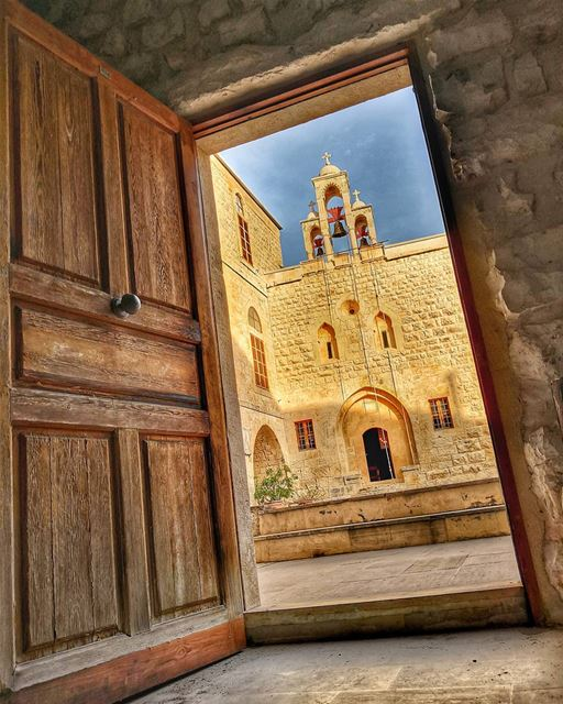 💙💛💙 Monastery of Saint John Maron; Kfarhay - Batroun  northlebanon.(... (Batroun District)