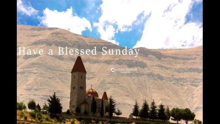 Wishing you a blessed Sunday ⛪  www.charbelfersan.com - © All rights...