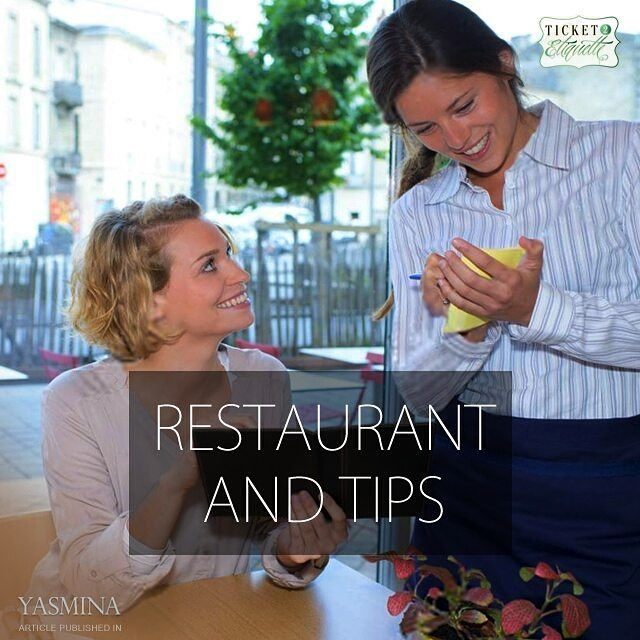 Vera on appropriate  restaurant behavior and  tipping with @gracytta in @ya (Beirut, Lebanon)