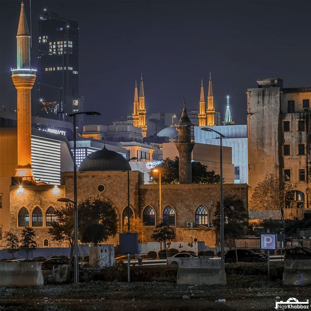 Goodnight from beirut...  streetphotography  urban  cityscape  mosque ...