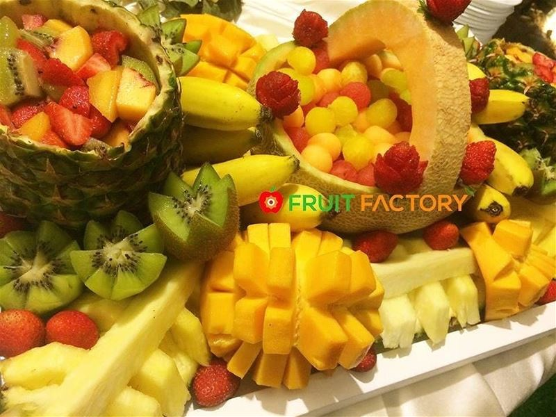 @fruitfactoryleb -  Order your Special  Exotic Tray for your events and... (Fruit Factory)