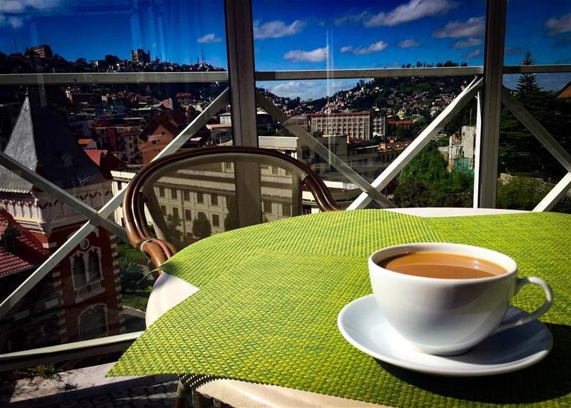 Adventure in life is good; consistency in coffee is even better. ☕️✈️ ... (Antananarivo, Madagascar)
