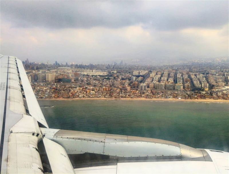 The magic thing about home is that it feels gd to leave & it feels even... (Beirut–Rafic Hariri International Airport)