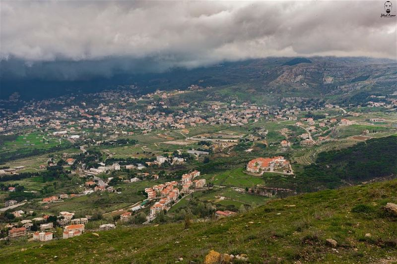 "Question of the Day:""Winter or Spring?""... (Falougha, Mont-Liban, Lebanon)"