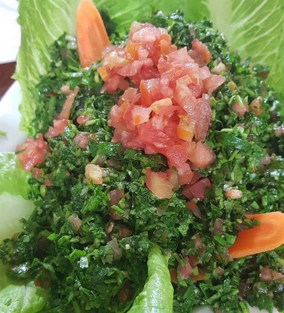 tabbouleh  fresh  lebanesesalad  salad  vegetables  yummy  delicious ...