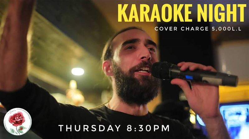 Don't forget our Karaoke night every Thursday! We start at 8:30PM with... (Em's cuisine)