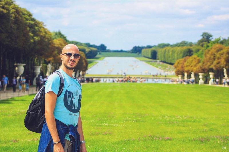 - Because hiking mountains is too mainstream -... versailles  paris ... (Versailles, France)