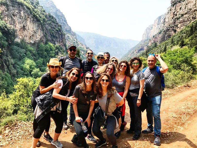What a hike in this sacred, mystical, breathtaking unspoiled beautiful... (Kadisha Valley)