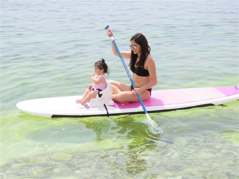 Introducing our new SUP baby seat!!! Now you can take your baby with you.... (June Beach House)