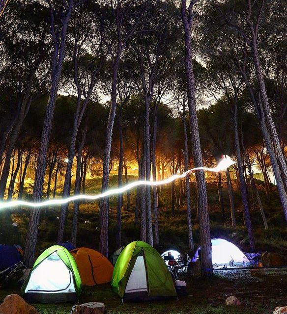 My vote goes to you ⛺️  outdoors  hiking  camping ... (Lebanon)