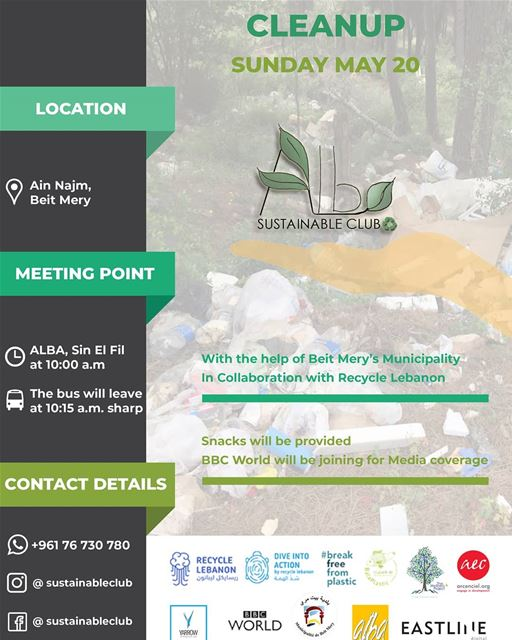 Diveintoaction and join us in a  zerowaste and  brandaudit clean up this...