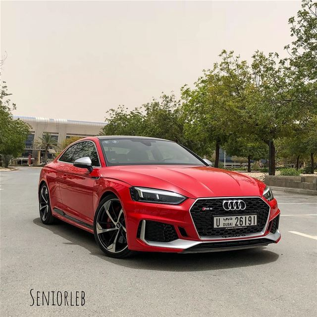 I'm in love with this new beast. The new Audi RS5 is from a different 🌎 ... (Dubai, United Arab Emirates)