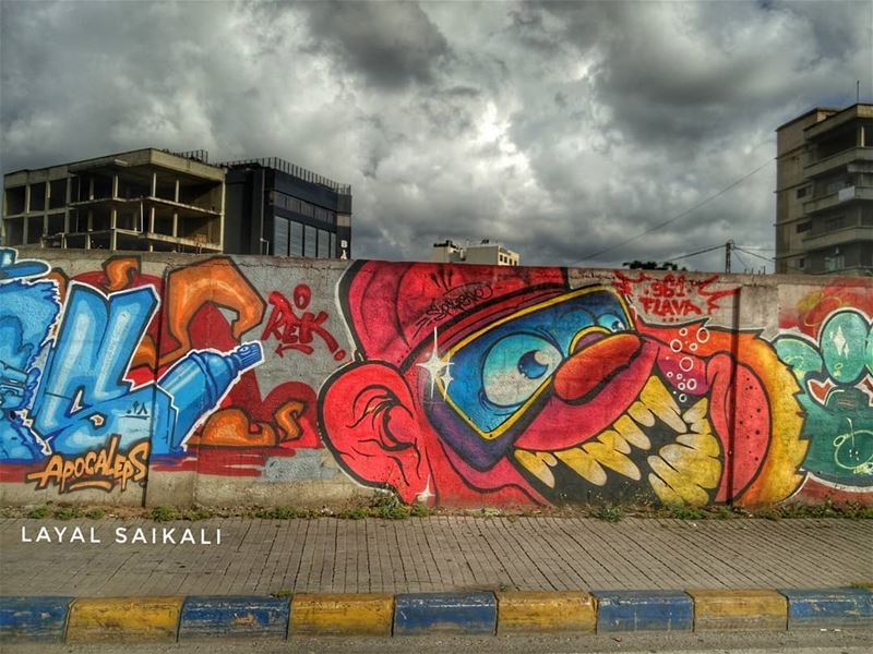 ... And this is the last pic of the graffiti theme. Hope you liked it✌ . 3/ (Ad Dikwani, Mont-Liban, Lebanon)