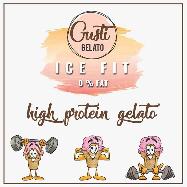 @gusti.gelato -  This is for all the gym addicts out there - High protein... (Gusti Gelato)
