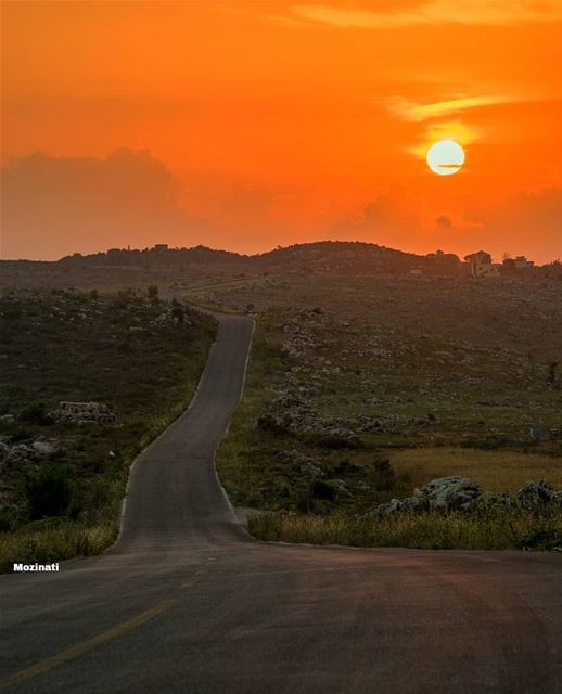 A person often meets his destiny on the road he took to avoid it.. 👌 ===== (Rumin, Al Janub, Lebanon)