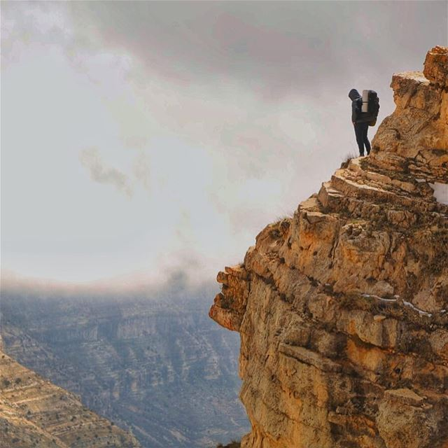 Great things are done when Men and Mountains meet... (Lebanon)