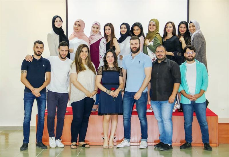 Photo credit @janakanaan_   lebanon  groupphoto  saida  groupphotoshoot ... (Saida - LIU campus)