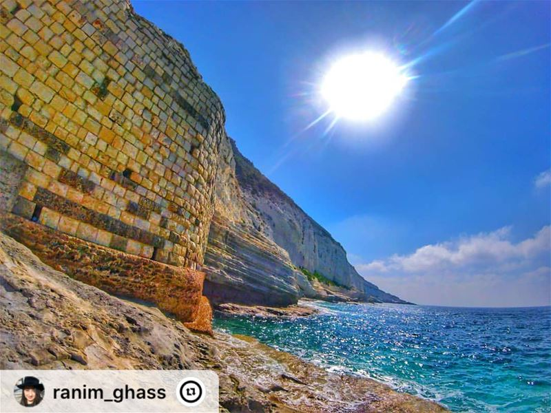 """For the love of NAQOURA 💙. ... insta_lebanon  goproleb  gopro ..."