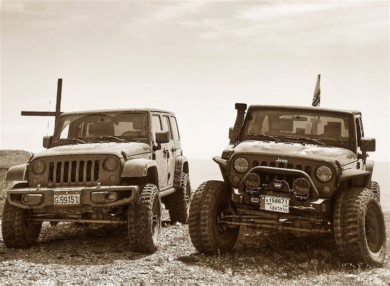O|||||||O HER riding with her brother in LOW  lebanon  mountains  jeep ...