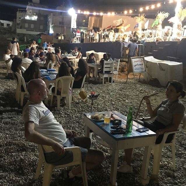 Saturday Night at RAY's  lebanon  raysbatroun  batroun  bahsa  beach ... (RAY's Batroun)