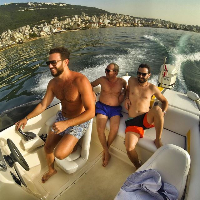 """Happy Fathers Day"" In the picture, The Grandfather, The father and the... (Jounieh)"