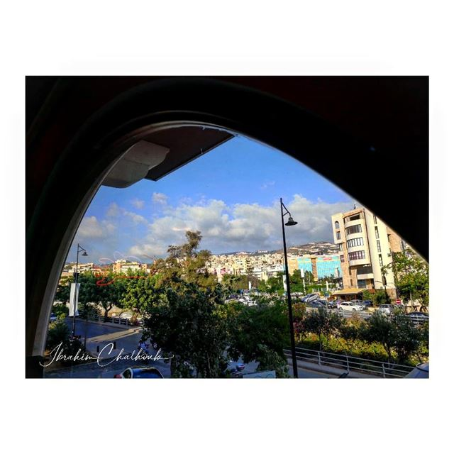 frommywindow  desdelaventana -  ichalhoub was in  Byblos  Lebanon...