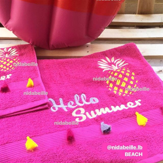 All i need is vitamin SEA ☀️Write it on fabric by nid d'abeille  beach ...