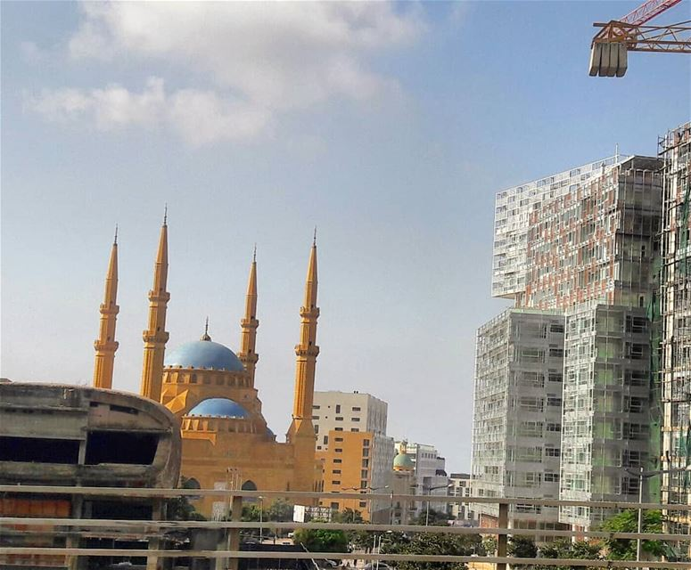 Beirut's traffic jam could be good for sightseeing and taking quick... (Beirut, Lebanon)
