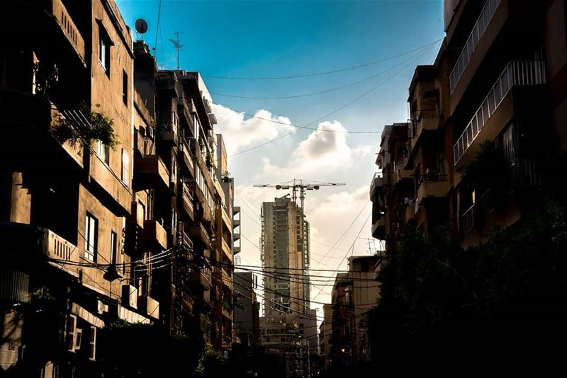 Towers invading beirut © Rudy Aoun  love  artistic  photography ... (Beirut, Lebanon)