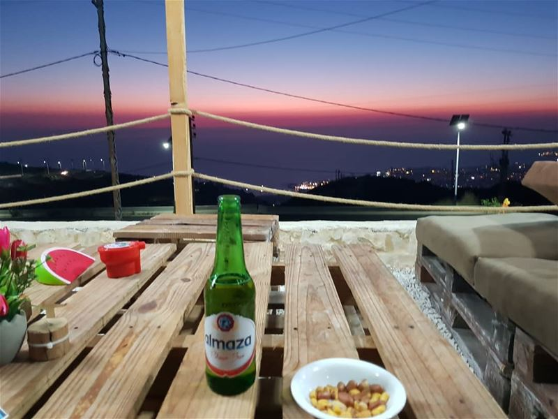 batroun  البترون_سفرة  edde  sunset @sky.lounge.cafe  sky_cafe  sea_view ... (SKY lounge-cafe)