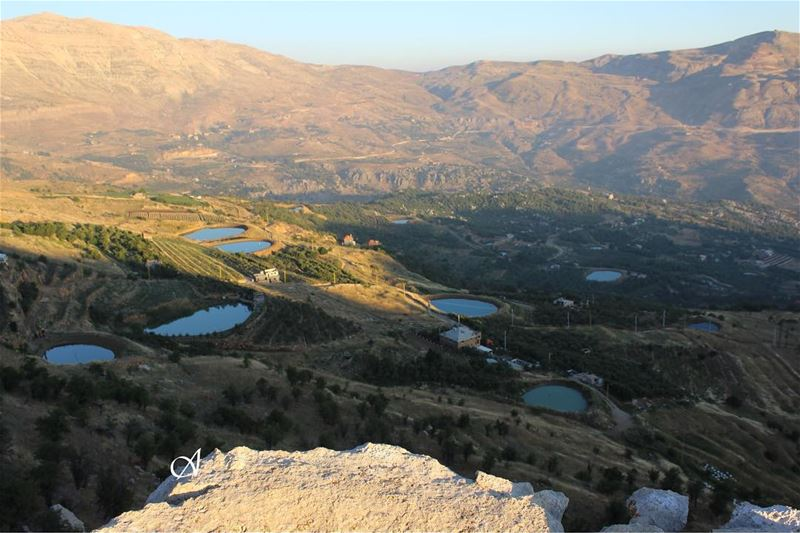 What my eyes saw and not other person eyes water  mountains  sky  height... (Baskinta, Lebanon)