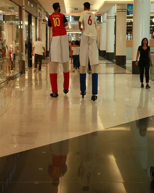 I love this country! Longing for the semi-finals... thisislebanon79 ... (Citymall)