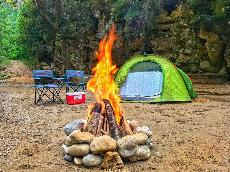 All you need is a wild soul to enjoy this with! 🔥⛺️ (Yahchouch)