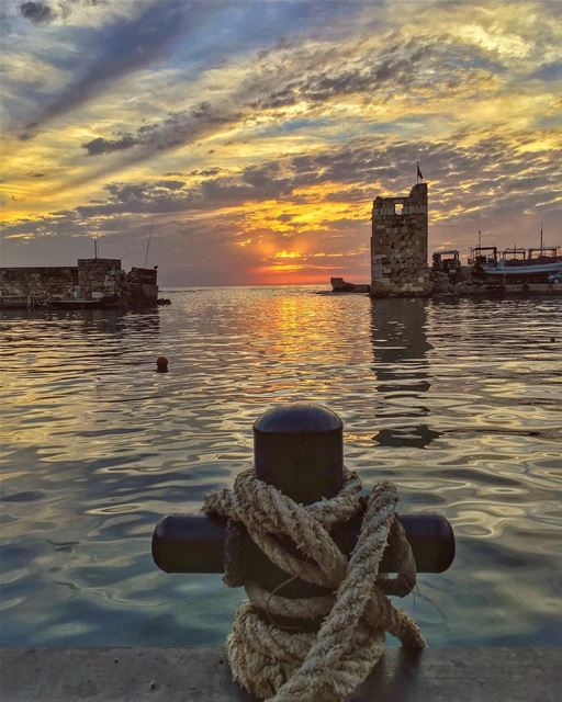 No safe harbours, no walls no borders, into the sunset you come undone ,... (Byblos, Lebanon)