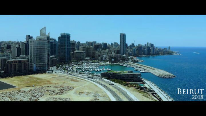 aerial footages of beirut in a cinematic mood  aerialvideography  filming ...