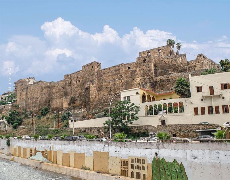 One of the must-see things in Tripoli • Fortress of Raymond de Saint-Gilles (Tripoli, Lebanon)