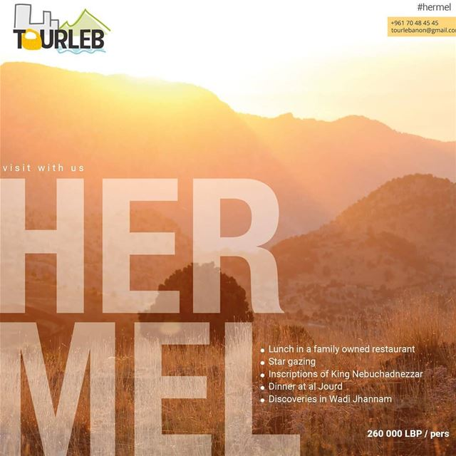 Visit the hermel with tourleb this weekend july 21 22 ! Places are very... (Hermel)