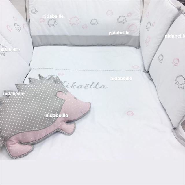 Dream BIG baby Mikaëlla ☁️ sweet angel 💖 Bed set made with love. Write it...