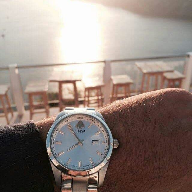 throwback to a  beautiful  sunset in  Lebanon with  10452dna  watch... (Tyre, Lebanon)