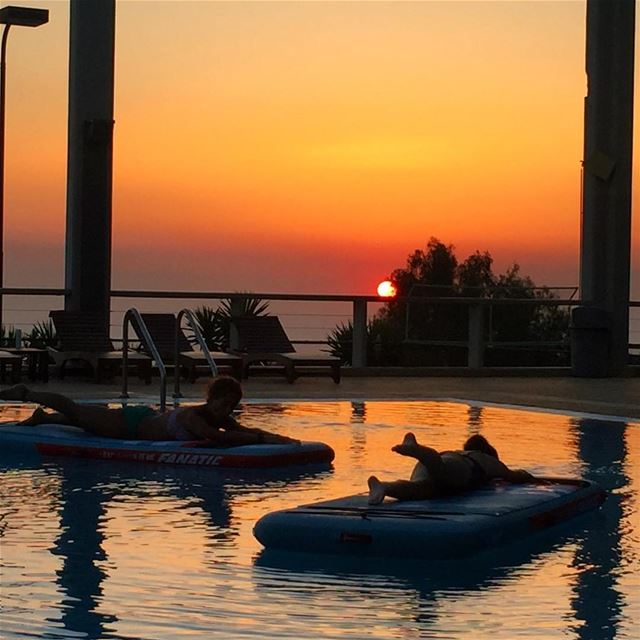 Join us every Tuesday for a sunset yoga session at Belhorizon Country Club... (Belhorizon Country Club)