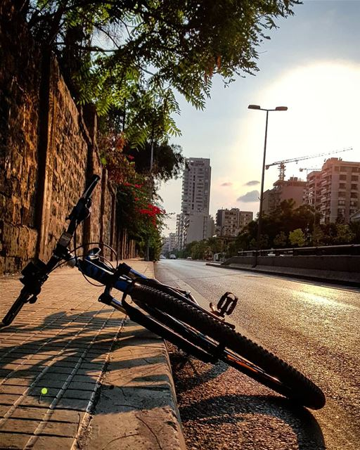 If Your Schedule costs your Mind.. Your Freedom costs your Heart..🚲🍃🍃🍃 (Beirut Hippodrome)