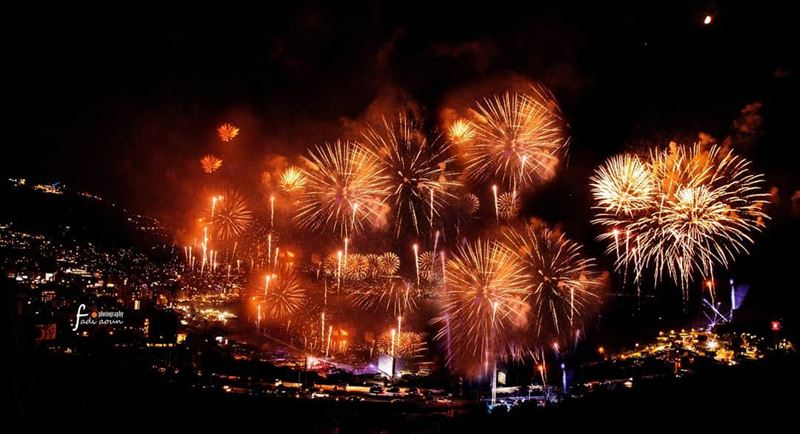 Jounieh FIreworks 2018 photo  fadiaounphotography ...