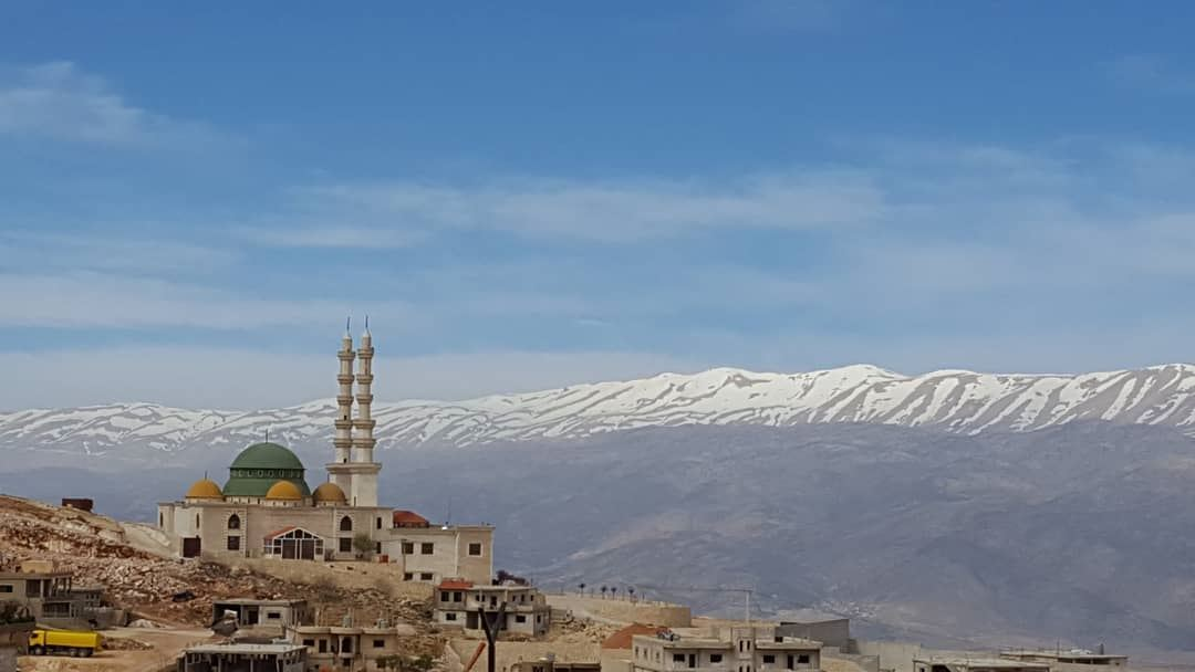 @HugoShorter: A view from  Arsal across the  Bekaa valley towards Mount...