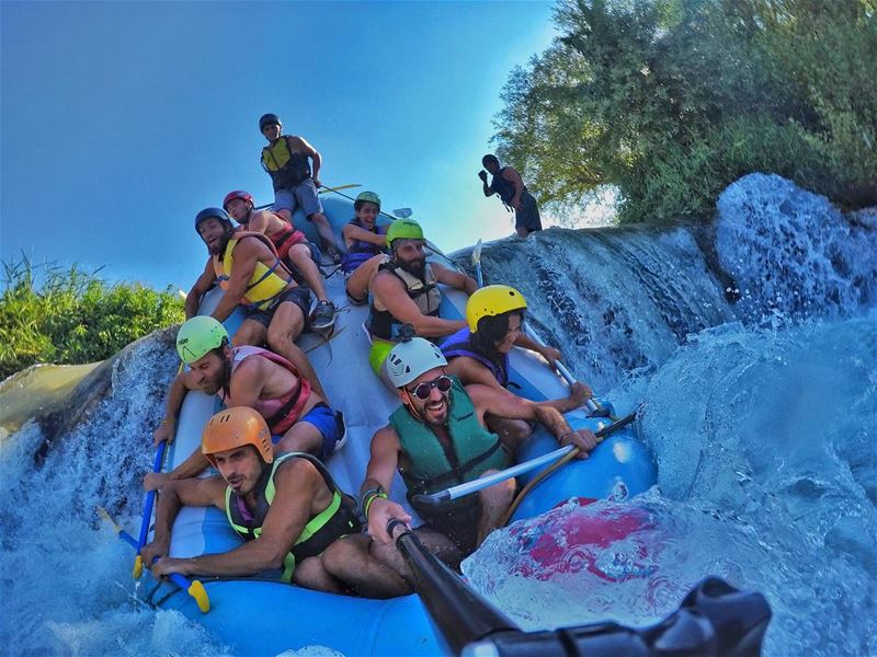 Don't aspire to be the best on the team. Aspire to be the best for the... (Rafting Squad)