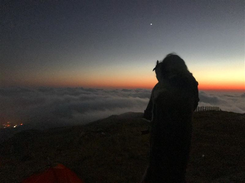 Starting at Venus‼️.................. lebanon ... (Above The Clouds)
