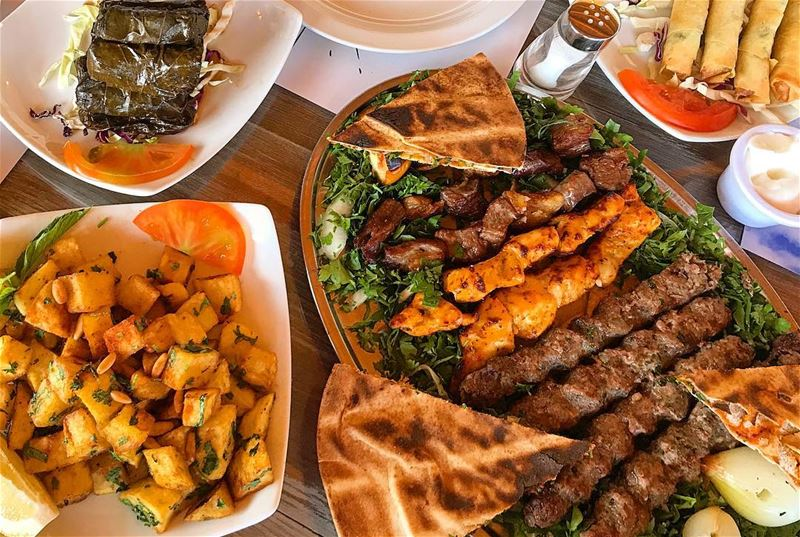 """Mashawi"" are classic Arab food staples that consist of barbecued meat and... (أنا وياك - Elmiradordeterbol)"