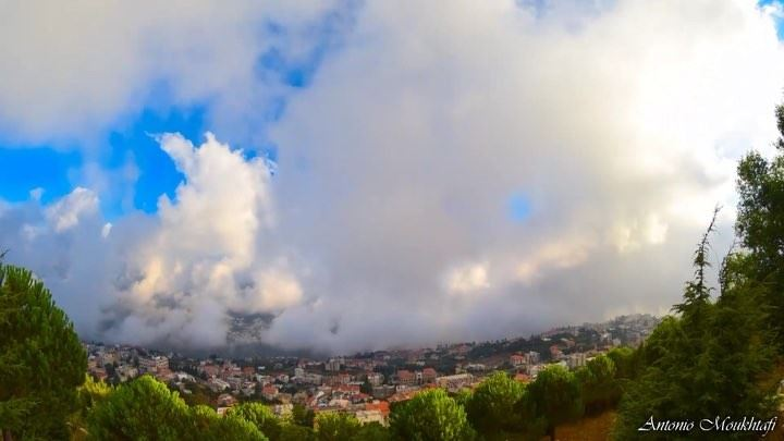 You are the sky. The clouds are what happens, what comes and goes. ehden ... (Ehdène, Liban-Nord, Lebanon)
